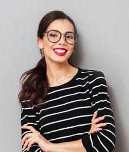 Női szemüvegstílusok