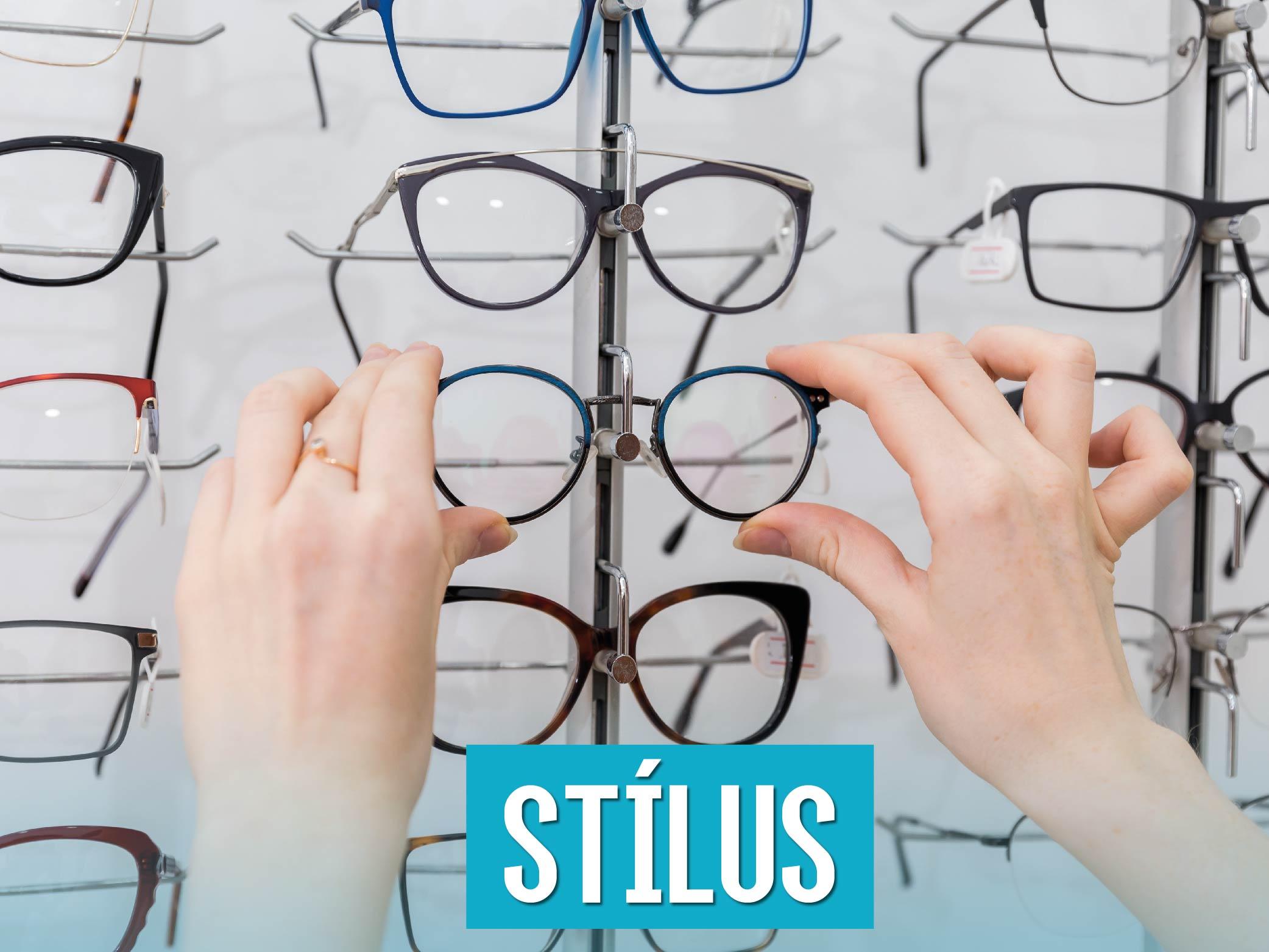 Szemüvegstílusok