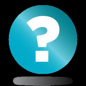 Kérdőjel ikon a gyakori kérdésekhez
