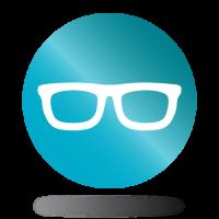 Szemüveg ikon